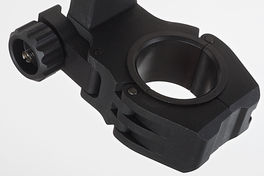 AIM M10 QD-L 1 Inch to 30mm Ring with Level - BK