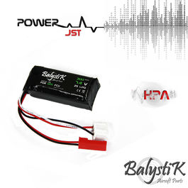 Balystik 7.4V 300MAH micro lipo battery - special use for HPA Engine
