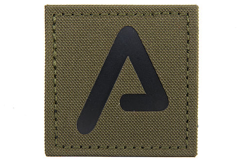 Agency Arms Premium Patches Ranger Green / Black 'A'