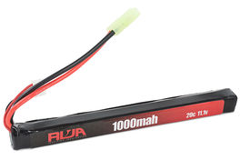 RWA 11.1v 1000mAh (20C) AK Stick Type Lipo Rechargeable Battery (Small Tamiya)