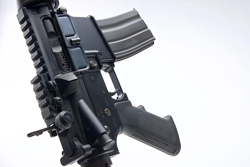 GHK COLT Licensed M4 RAS GBB 10 5 inch V2 2019 - Black - RWA