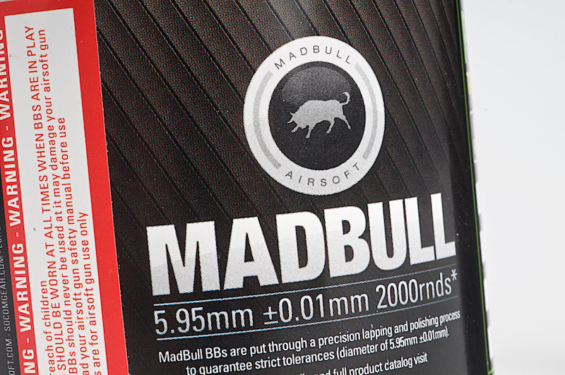 Madbull 0.43g Heavy BB for Snipers (2000rds / Bottle) - White Color <font color=red> (Not for Germany)</font>
