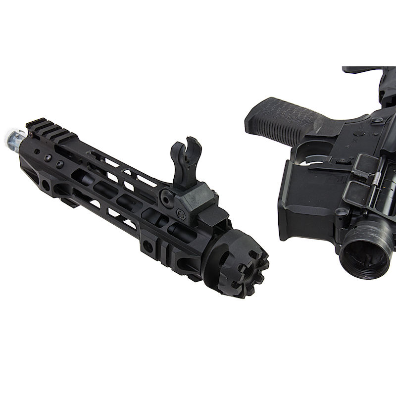 G&P Transformer Compact M4 Airsoft AEG with QD Front Assembly Cutter Brake - New marking