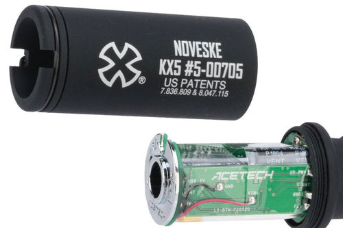 EMG Noveske KX5 Flash Hider w/ Built-In Acetech Lighter S Ultra Compact Rechargeable Tracer (Socom Gear Licensed) (by Dytac)