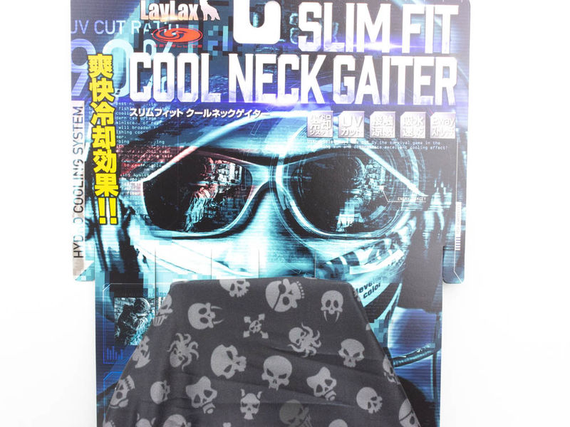 Satellite Slim Fit Cool neck Skull Icon Pattern