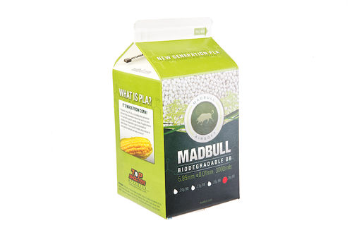 Madbull Precision 0.28g Bio-Degradable BB 3000 rds (Carton) <font color=red> Not for Germany </font>