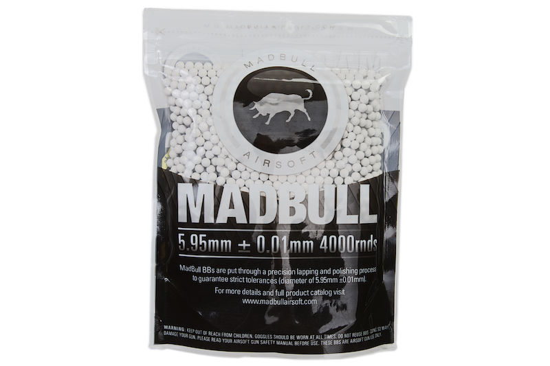 Madbull 0.30g Premium Match Grade/ PLA BIO BB 4000 rds (Bag) <font color=red> Not for Germany </font>