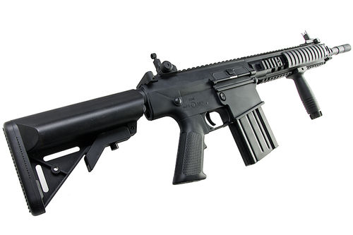 A&K Full Metal SR-25K Airsoft AEG Rifle - Black