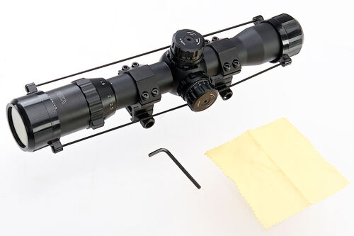 RWA Hawkeye Rifle Scope 1.5 - 6 x 30
