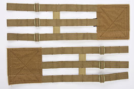 Crye Precision (By ZShot) Adaptive Vest System (AVS) 3-Band Skeletal Cummerbund (M Size / Coyote Brown)