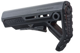 Strike Industries Viper Mod 1 Mil-Spec Carbine Stock  Black / Black <font color=red> (Not for Germany)</font>