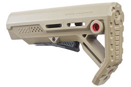 Strike Industries Viper Mod 1 Mil-Spec Carbine Stock for AR GBB Series FDE / Red <font color=red> (Not for Germany)</font>