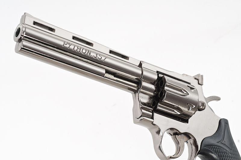 357 Magnum Pytho Black Blackcat Mini Non-Function Dummy Model Gun For Display