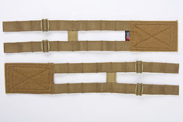 Crye Precision (By ZShot) Adaptive Vest System (AVS) 2-Band Skeletal Cummerbund (L Size / Coyote Brown)