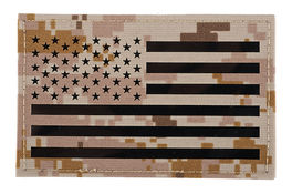 TMC Large US Flag Infrared Patch AOR1