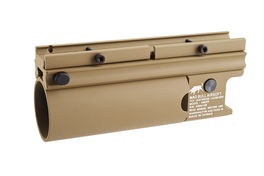 Madbull XM203 Short Moscart Launcher (Tan) <font color=red> (Not for Germany)</font>