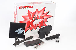 Systema PTW M4-A1 Value Kit 1 (Included Ambidextrouse Gearbox) - Upgrade Kit CQBR-MAX2 (M110 Cylinder)