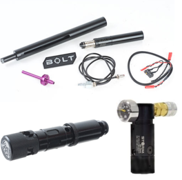 BOLT Ultimate Sniper Package (BOLT w/ Cylender, STORM High Pressure Regulator, WRAITH CO2 adapter)