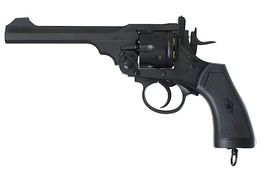 Gun Heaven (Win Gun) Webley MK VI  6mm Co2 Revolver - Black