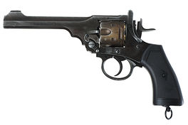 Gun Heaven (Win Gun) Webley MK VI  6mm Co2 Revolver - Weathered Version